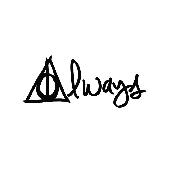 Always Deathly Hallows Harry Potter Duvet Cover By