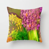 Fiesta Time Throw Pillow
