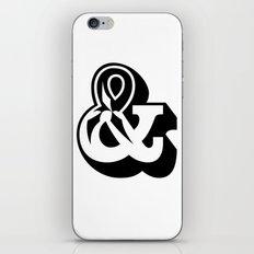 AMPERSAND iPhone & iPod Skin