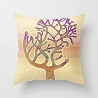 Potombo Tree Throw Pillow