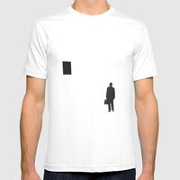 Negative Approach Mens Fitted Tee White SMALL