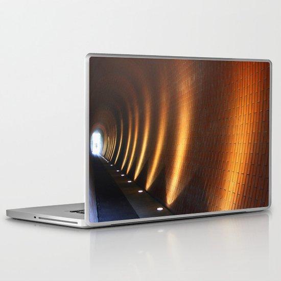 Tunnel Lights Laptop & iPad Skin