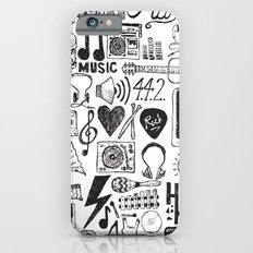 Music Doodles Slim Case iPhone 6s