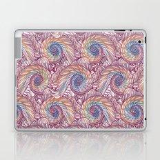Peacock Swirl - Multi Laptop & iPad Skin