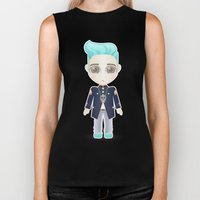 TOP from Bigbang Biker Tank