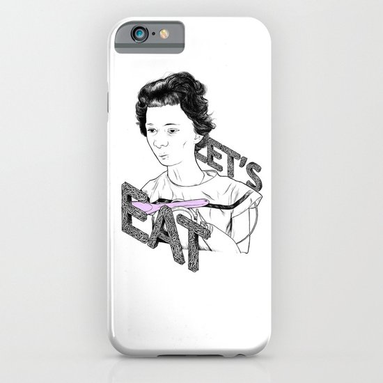 Let's Eat iPhone & iPod Case