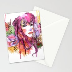 Blushing in Spring Stationery Cards