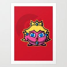 Peachypuff Art Print