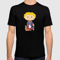 Petit Prince Mens Fitted Tee SMALL Black
