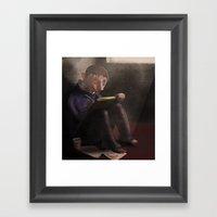 Sketches Framed Art Print
