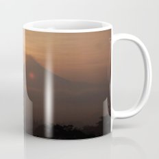Sunrise over the volcano Mug