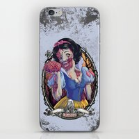Zombie Snow White iPhone & iPod Skin