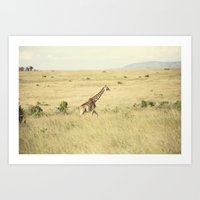 journey::kenya Art Print