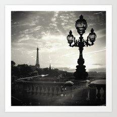 Mysterious Paris Art Print