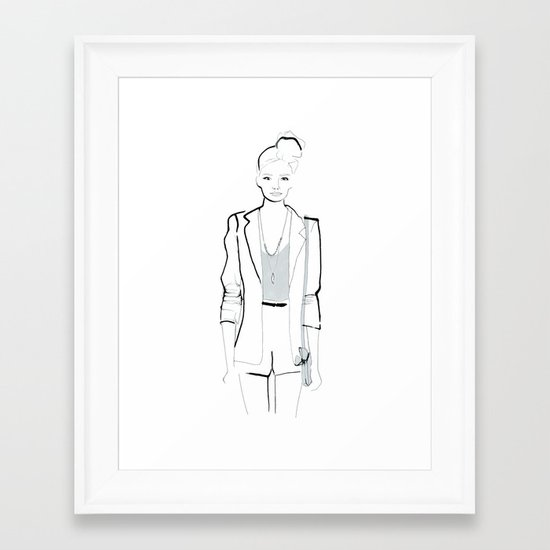 Naiomi Framed Art Print