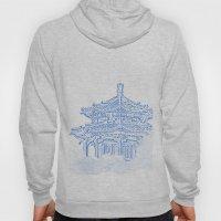 Zen temple in the cloud Hoody