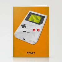GameBoy Stationery Cards