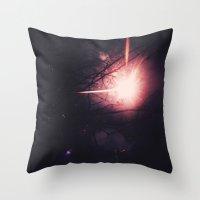 Firework! Throw Pillow