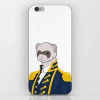 Captain Ferret iPhone & iPod Skin