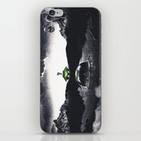 The Landing A Zebes Surrealism iPhone & iPod Skin