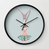 Rita and Clyde Wall Clock