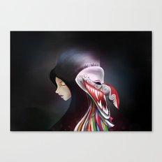 women_ผีตาโขน Canvas Print