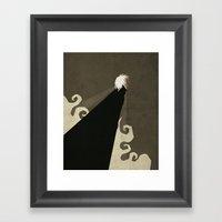 Paper Heroes - Storm Framed Art Print