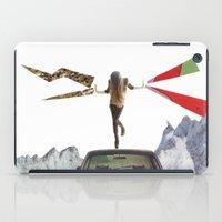 lady lightning iPad Case