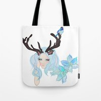 Ice Lady. Tote Bag