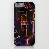 iPhone & iPod Case featuring The Trumpet Glow by Andrew Sliwinski