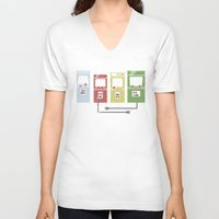 Arcade Machines Unisex V-Neck