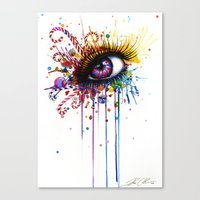 -Dead By Candy- Canvas Print