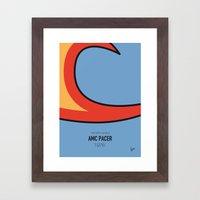 No010 My WAYNES WORLD Mi… Framed Art Print