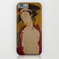iPhone & iPod Case featuring Geisha 1 by Gabriele Perici