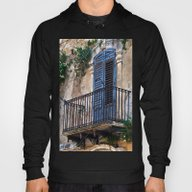 Blue Sicilian Door On Th… Hoody