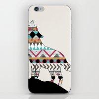 Wild Soul - Aztec Navajo Wolf iPhone & iPod Skin