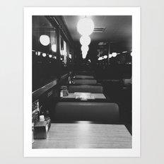 Film Noir Art Print