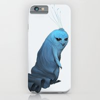 iPhone & iPod Case featuring Caped Kimkao by Mark Facey