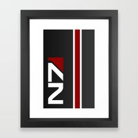 Mass Effect - N7 Hardcas… Framed Art Print