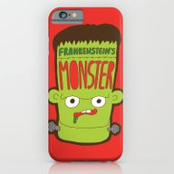 iPhone & iPod Case featuring Frankenstein's Monster by Evannave