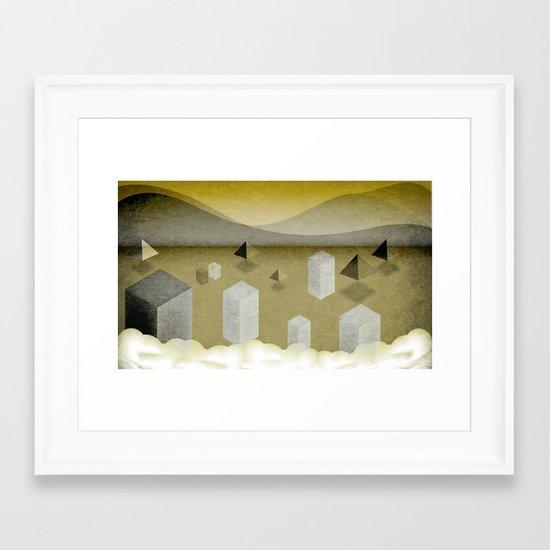 Year 2014 Framed Art Print