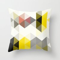 Modern Totem 01. Throw Pillow