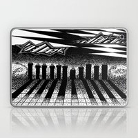 descending of night at the factory Laptop & iPad Skin