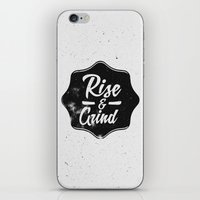 Rise and Grind iPhone & iPod Skin