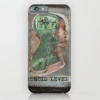 iPhone & iPod Case featuring ANDROID LEVEL 4 by Luca Piccini