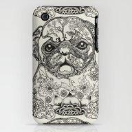 Persian Pug iPhone (3g, 3gs) Slim Case