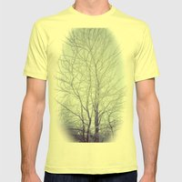 Winter 2.0 Mens Fitted Tee Lemon SMALL