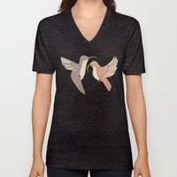 Dancing Hummingbirds Unisex V-Neck