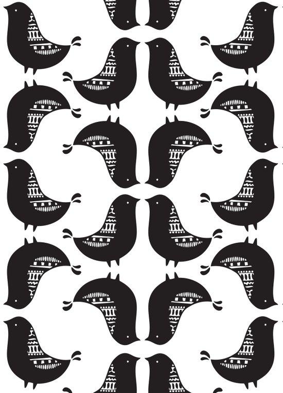 Aztec Birds Canvas Print