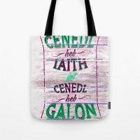 Cenedl Tote Bag